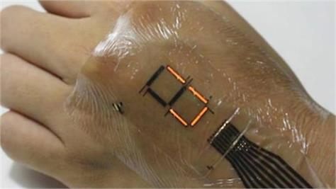 new invention electronic skin will treat wound