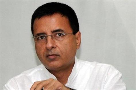 surjevala accused prime minister modi of cheating farmers