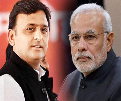 modi only talks about his mind but he does not listen to others akhilesh
