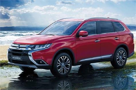 new mitsubishi outlander launched in india