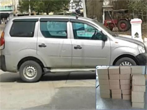 police caught illigal wine in chhatarpur