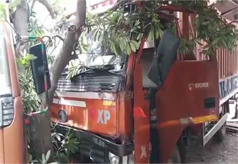 speeding truck collides with elderly to death painful death