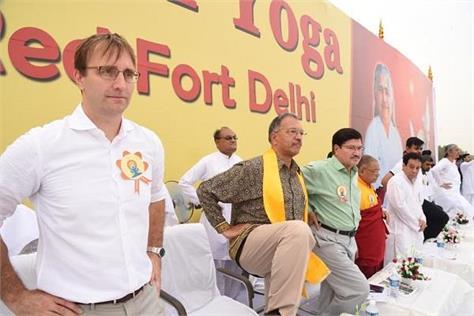 organized by brahmakumari delhi s most organized yoga