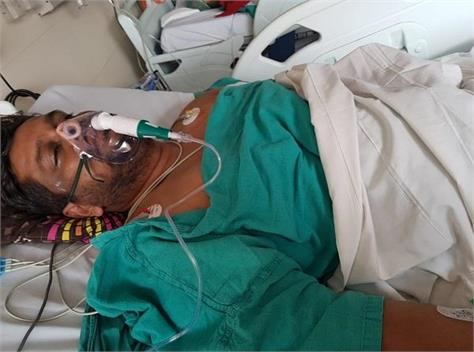 three youths of barnala injured when they were returning from makluganj