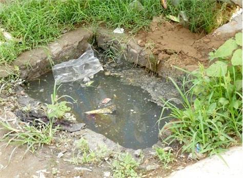 sewerage blockage