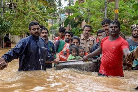 kerala rain narendra modi p vijayan