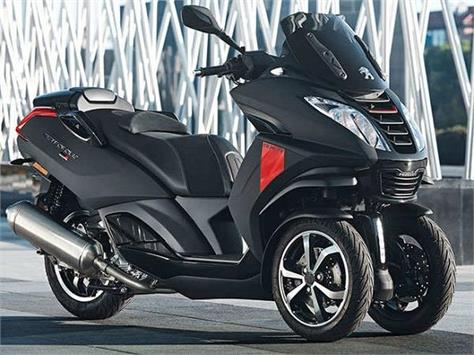 the three wheeled scooter equipped with a 400cc engine launched