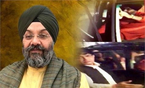 akali eader manjit singh gk attacked by khalistan supporters in new york