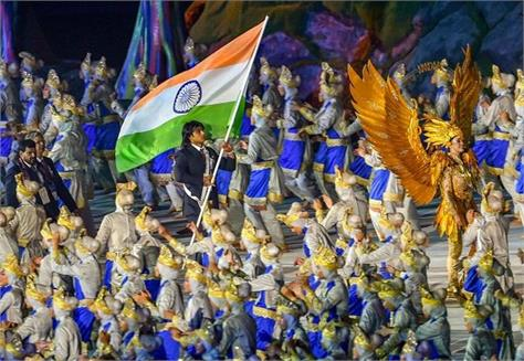 asian games opening ceremony start shortley