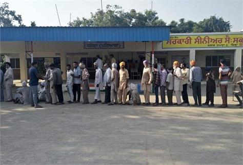 voting started for district councils and panchayat committees