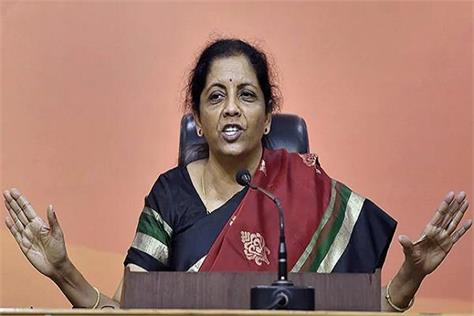 sitharaman reply to allegations of former defense minister
