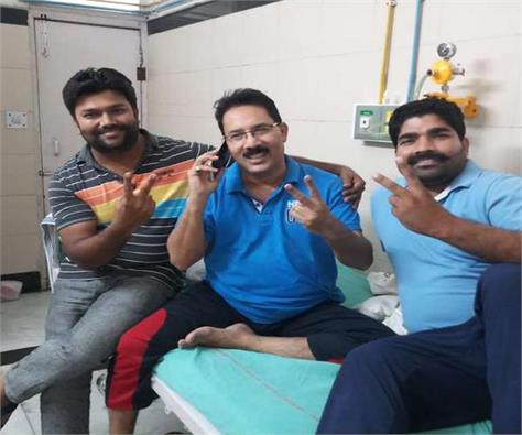 former bsp legislator yogesh verma removed  rasuka  hc orders release