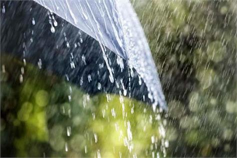 nahan rain warning