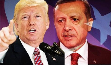 trump asks turkey for ceasefire and orders sanctions