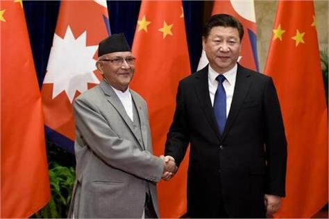 nepal china signs road link deals during xi visit