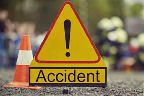 2 youth riding bike seriously injured in collision with haryana roadways bus