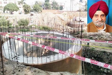 construction of bridge on hansali drain in batala started