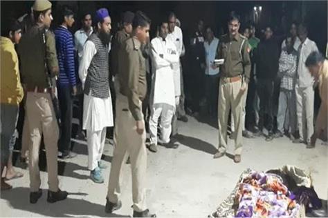 husband arrives at darites after wife s murder police pulls
