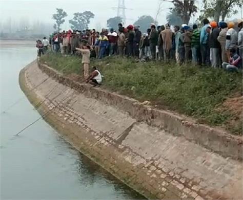 car fall in bhakra canal 3 youths die