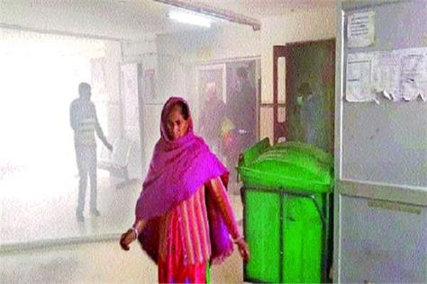 fire extinguishers engaged in civil hospital
