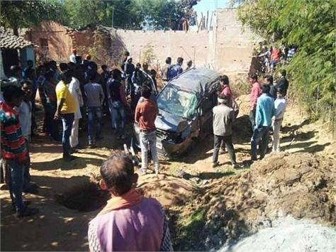car kills two girls outside home two die