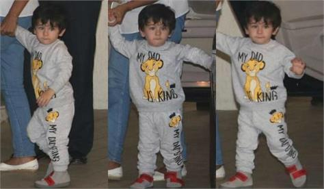 taimur ali khan cute look