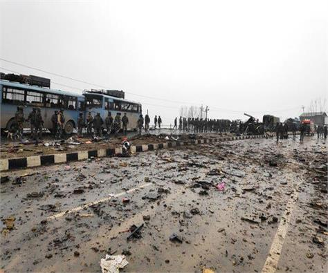 pulwama attack martyr 40 soldiers of 12 up the home ministry confirmed