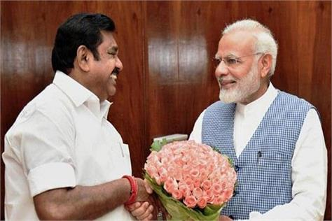 tamil nadu bjp to contest alliance between aidmk