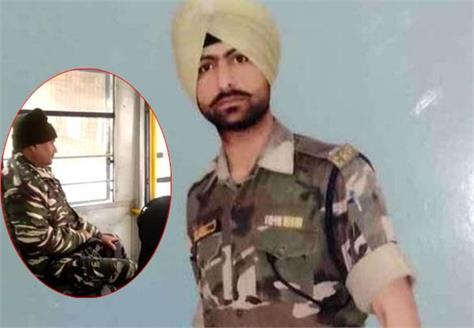 pulwama attack the soldier had sent a video of the trip to the wife