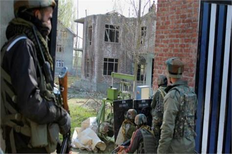 four encounter in 24 hours in the kashmir 6 terroist piled