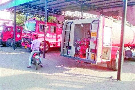 300 villages 3 trusts of fire fighting vehicles