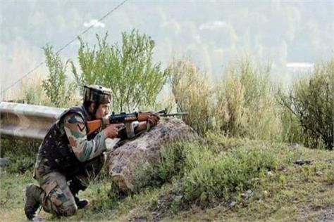 j k pak violates ceasefire in poonch an indian jawan martyr