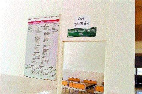 nutrition rehabilitation center prepared in civil hospital
