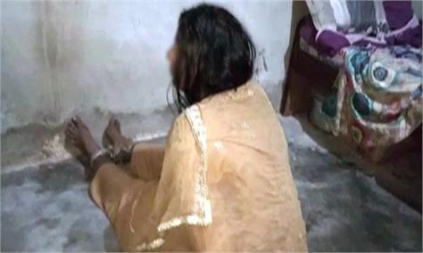 pak woman kept in chains for days and tortured by husband