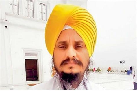 shri akal takth sahib gyani harpreet singh