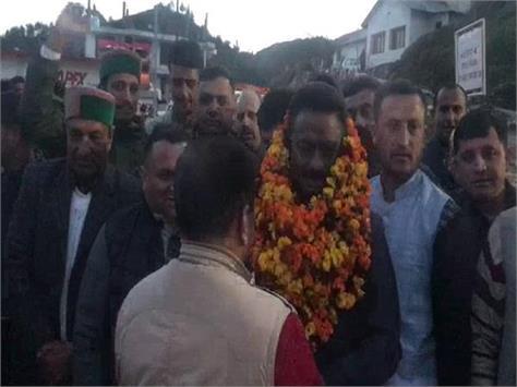 kuldeep rathore leaves for delhi tour