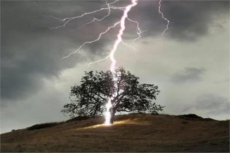 jharkhand two people killed in parmamu due to lightning
