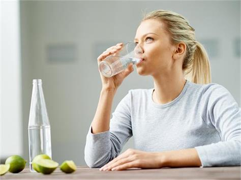 drinking water at the right time is also important