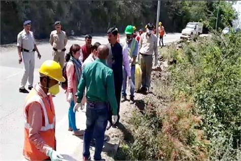 when dc solan did the work on the national highway