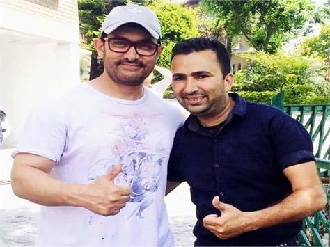 amir khan workout in palampur enjoyed the green tea