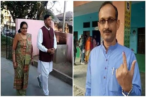 these leaders of himachal cast vote