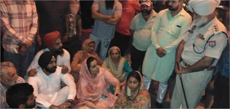 attack on aap candidate baljinder kaur