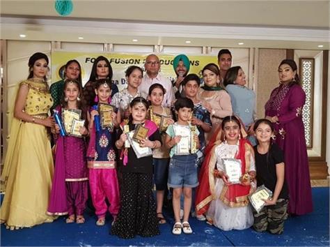 children perform in dance fever