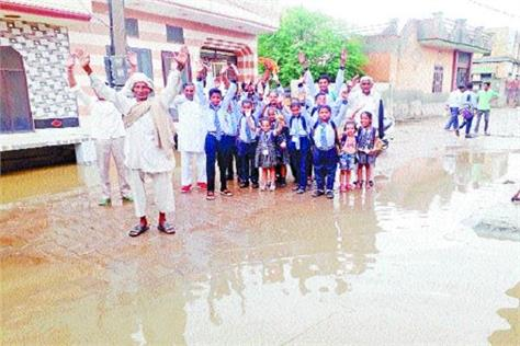 fury in people with no drainage