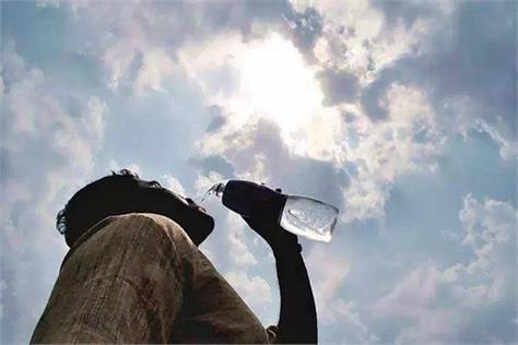 temperature reaches 45 degree in haryana