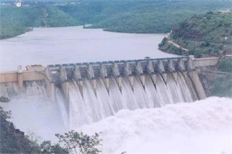 bhakra dam and flood ravine