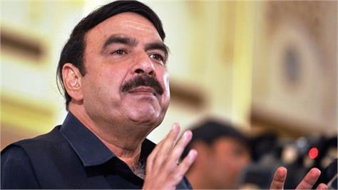pak threaten to india  railway minister sheikh rashid ahmed