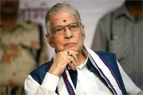 senior bjp leader murli manohar joshi deteriorates hospitalized