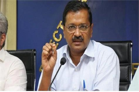 kejriwal press conference on delhi flood