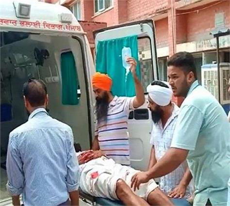 accident in faridkot 16 injured